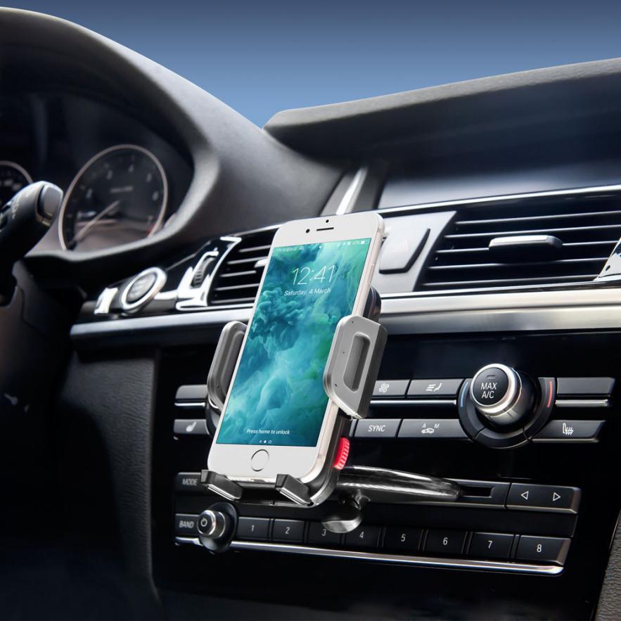 FGHGF Universal <font><b>Car</b></font> Auto <font><b>CD</b></font> <font><b>Slot</b></font> Mount Cradle <font><b>Holder</b></font> Stand For Mobile Smart Cell <font><b>Phone</b></font> For iphone 7 For Samsung Galaxy S8