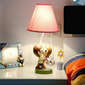 Cute Birthday Wedding Gifts Kids Table Lamp E14 110V-220V Children Room Switch Button Couple Birthday Folding Table Lamp