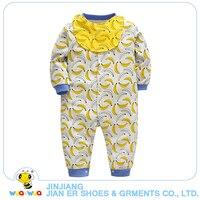 Wholesale Infant Boys Romper Baby Clothes Bodysuit Cotton Sleepwear Set