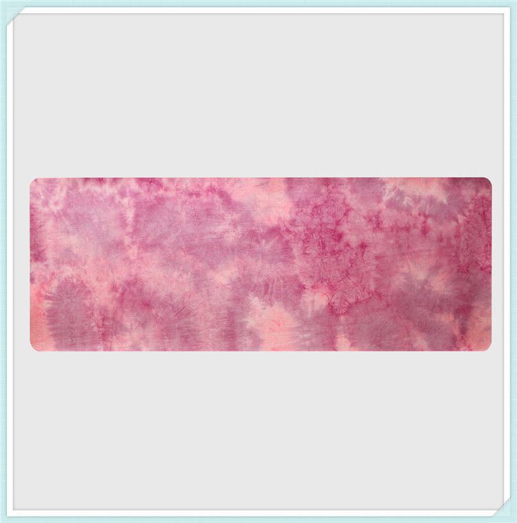 Hand-dyed Natural Suede TPE Yoga Mat Widened Anti-Slip Sweat Pilates Comfortable High Quality Fitness Pad 8