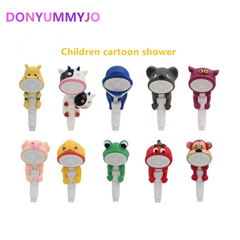 DONYUMMYJO дети показ головы мультфильм красивая домашняя игрушка душ ребенок душ ванная комната ручной душ воды бустер кран
