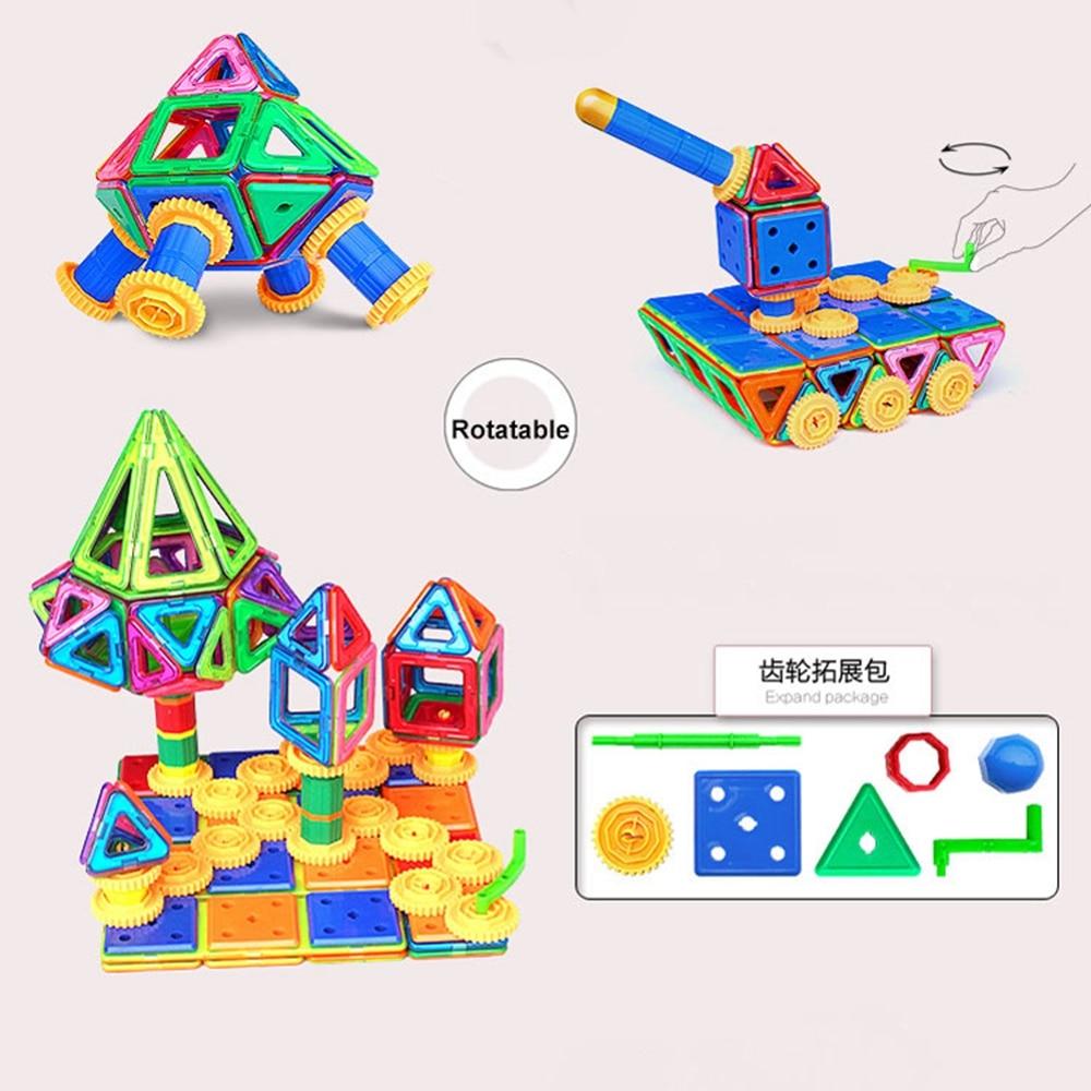 94 PCS Concepteur magnétique de blocs de construction modèle et - Concepteurs et jouets de construction - Photo 4