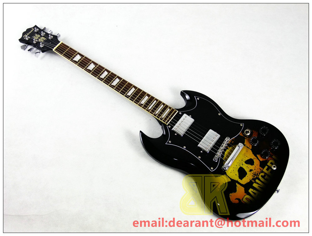 new electric sg p11 guitar high quality and best price sg guitar ems shipping free in guitar. Black Bedroom Furniture Sets. Home Design Ideas