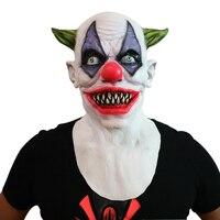 Nouveau Effrayant Masque De Clown Joker Hommes de Plein Visage Horreur Drôle Masque Pour Halloween Partie De Costume De Mascarade Masque Festival Fournitures