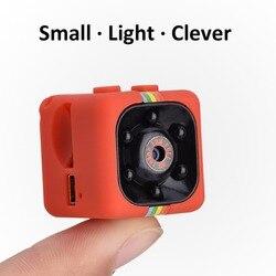 أحدث SQ11 كاميرا صغيرة HD 1080P كاميرا للرؤية الليلية كاميرا فيديو صغيرة عمل كاميرا فيديو رقمي مسجل صوتي مايكرو كاميرات