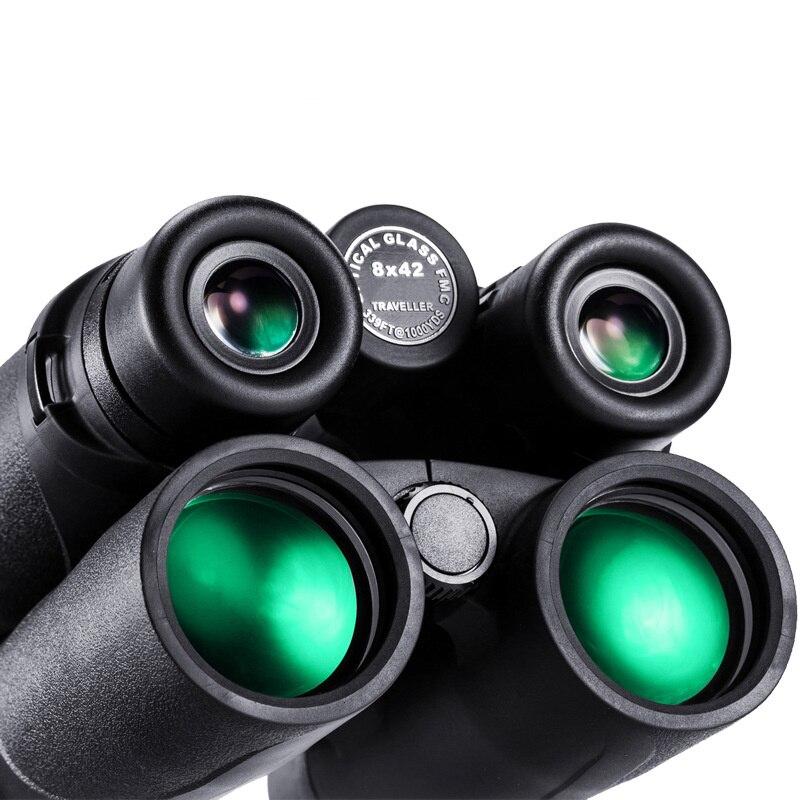 Бинокль 8X42 Открытый Спорт Туризм походы Trave Рыбалка водостойкий мобильный телефон камера неперспективный телескоп хороший подарок