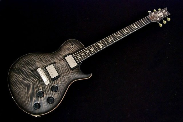 Classical Beautiful Music Instrument PRS Paul Reed Smith Private Stock SingleCut Charcoal Burst Electric Guitar
