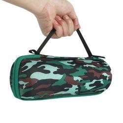 Twarde etui ochronne podróżne kamuflaż EVA pokrywa torba typu worek do głośnika JBL FLIP 4|Akcesoria do głośników|Elektronika użytkowa -