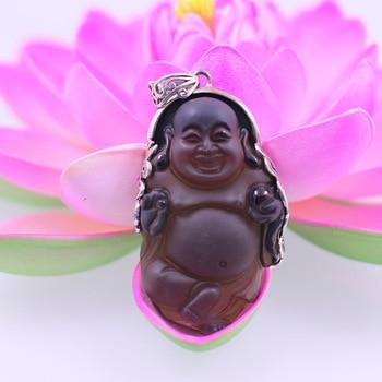 S925 exquisite tea lady orbment responsive Buddha Pendant