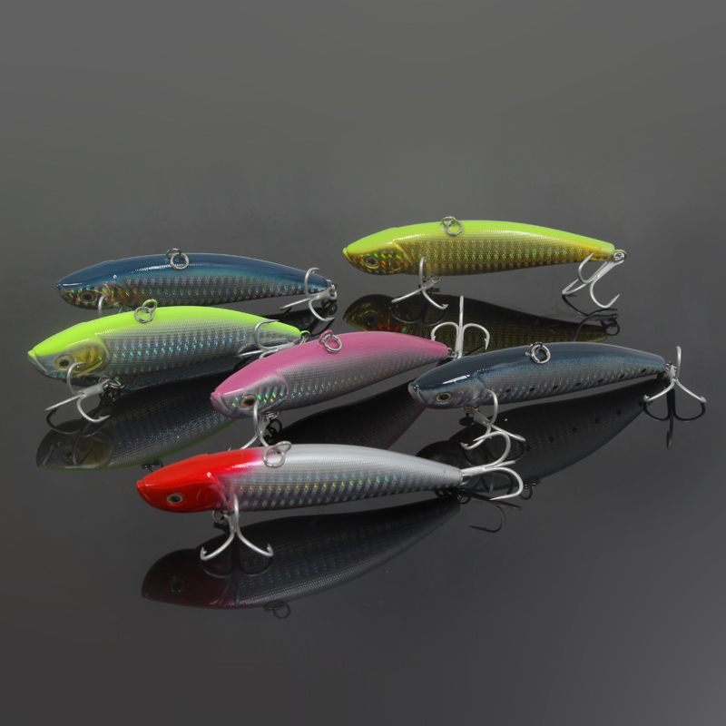 SaltWater Big Fish Sea Fishing VIB Lure 39g 49g Hard Bait For Boat Lures Bass Anti-Dust Treble Hooks wldslure 1pc 54g minnow sea fishing crankbait bass hard bait tuna lures wobbler trolling lure treble hook