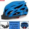 Kingbike capacete de bicicleta ultraleve, capacete de ciclismo para montanha, estrada, mtb, capacetes de luz traseira para homens e mulheres, esportes ao ar livre 17