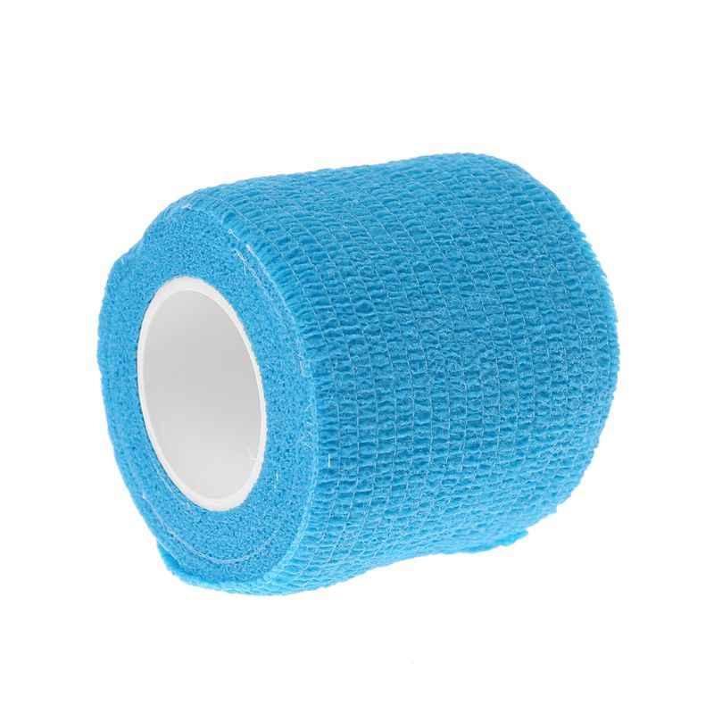 benda coesiva Kinesiologia nastro dito intonaco autoaderente estensibilit/à LisaCare 11x quattro dimensioni
