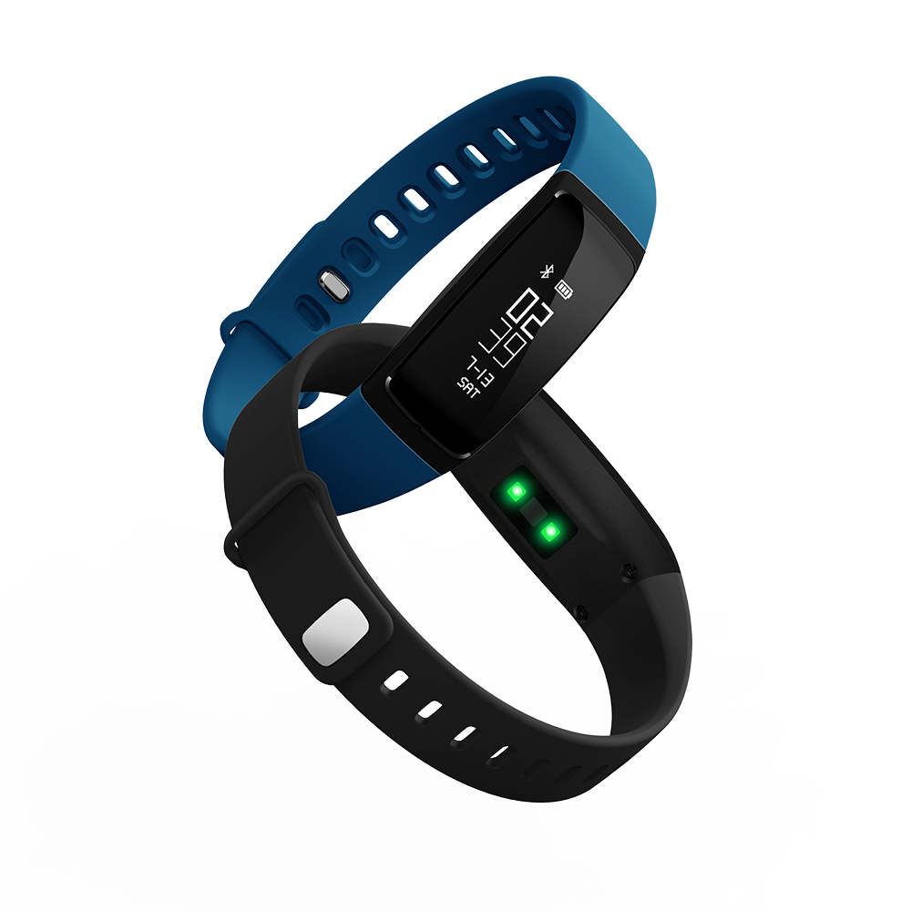 Smartch V07 Smart Bracelet Activity Tracker Heart Rate Monitor Watches Blood Pressure For Android IOS Fitness