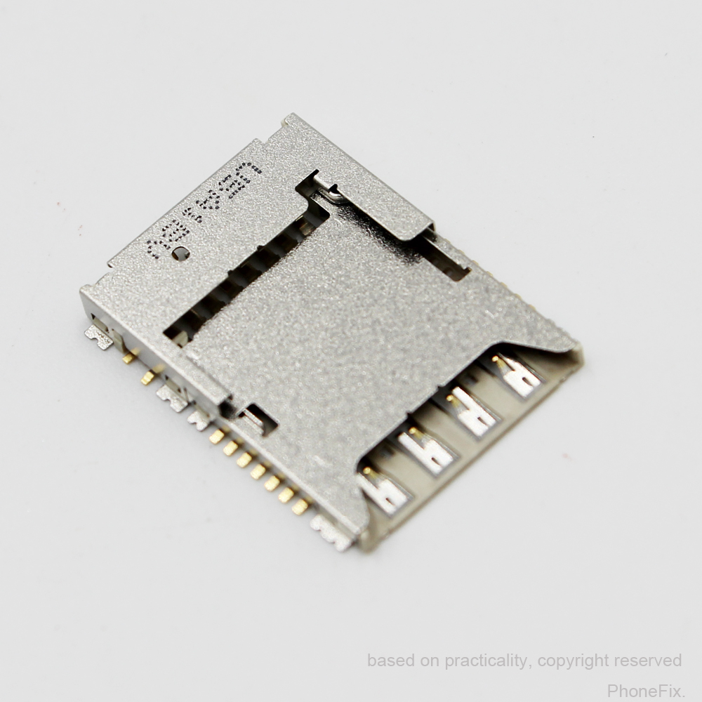 30pcs/lot For Samsung S5 SM-G900 G900 G900F G900H Sim Card Reader SD Memory Reader Slot Tray Holder