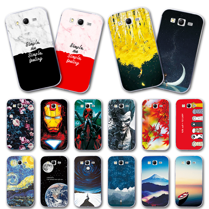 Back Protective Painted Phone Case For Samsung Galaxy Grand Duos GT I9082 i9080 9060 Neo I9060 Various Silicon Cover Capa Fundas