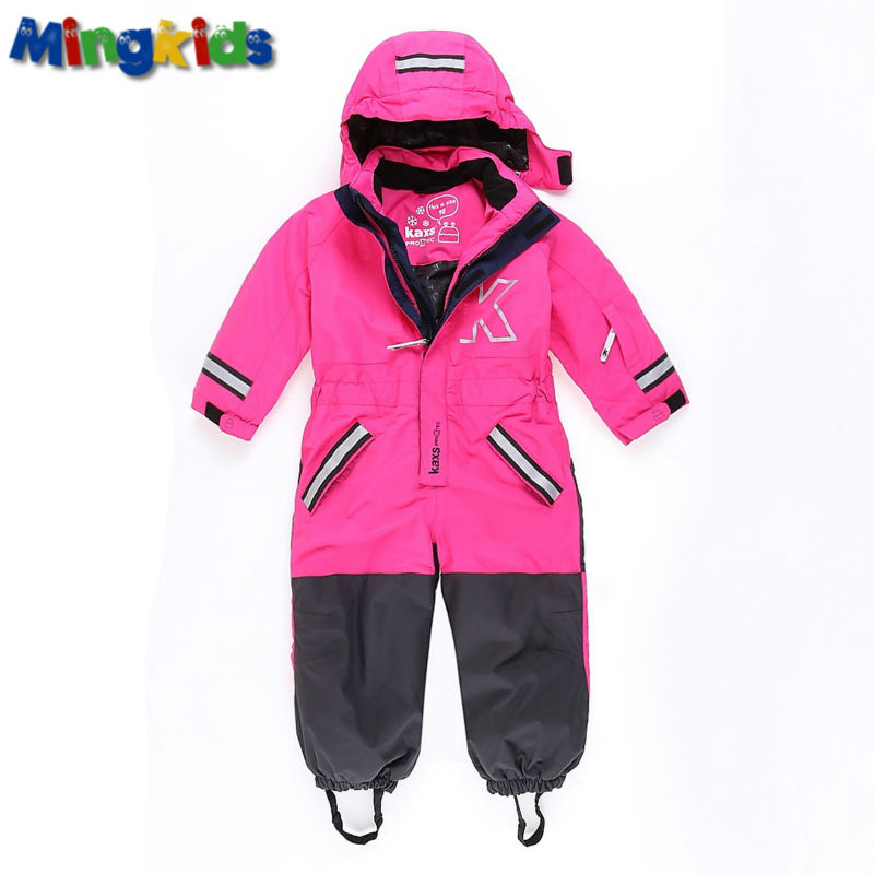 Russian mingkids Snowsuit toddler girl Rompers Ski Jumpsuit Outdoor Winter Warm Thicken  Snow Suit waterproof windproof padded russian phrase book