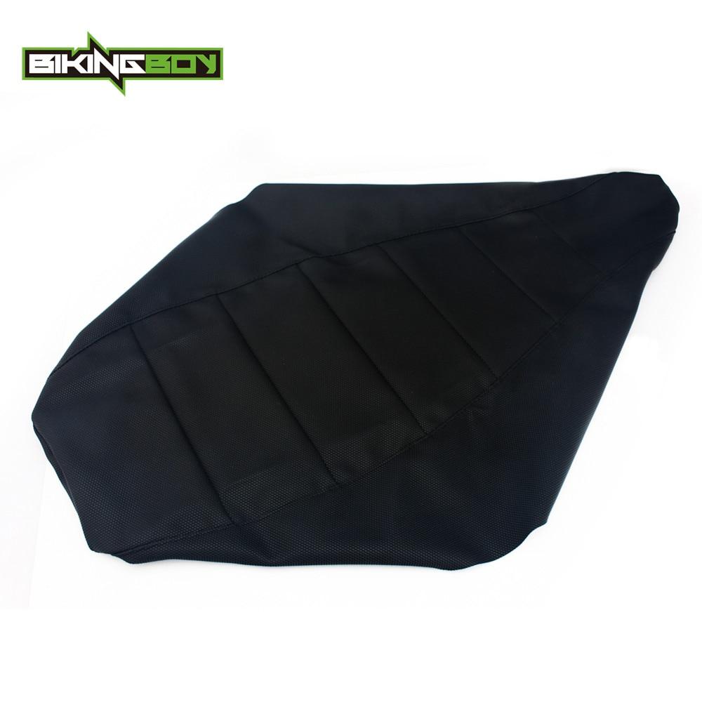 BIKINGBOY ATV Quad Seat Cushion Cover For KAWASAKI KFX 400 KSF400 03 04 05 06 Gripper Soft Ribbed Replacement Accessories 1pc