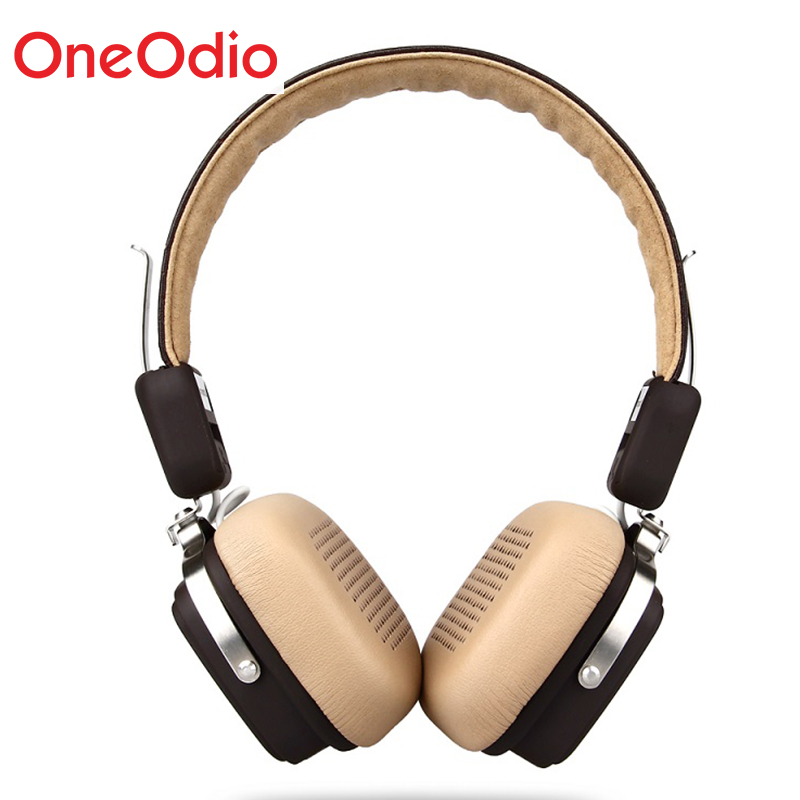 Oneodio Wireless Headphones Foldable Bluetooth 4.1 Headphones 500mAH Wireless/Wired Sport Stereo Headset With Mic For Smartphone oneodio 4 1 bluetooth headphones sport stereo wired wireless headset with microphone mic noise canceling earphone for xiaomi
