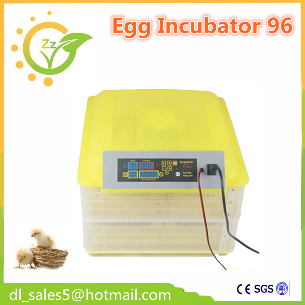 ФОТО  Automatic Digital Fully Chicken Egg Incubator 96 Egg Poultry Hatcher