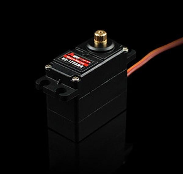 Livraison gratuite PowerHD 10 pièces HD-1250MG 25g 3.5 kg engrenage métallique servo
