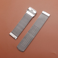 Top Quality Watchbands bracelet lady Men Stainless Steel Mesh Watch Bands Watch Straps 18mm 20mm 21mm 22mm 24mm with free tools