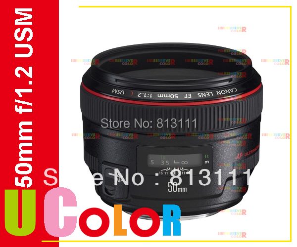 Canon ef 50mm f/1.2 l usm teleobiettivo standard per 80d 800d 760d 77d 5dsr 5d iii