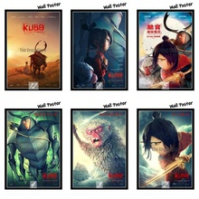 Kubo and the Two Strings Movie White Kraft Paper Painting Art Print Poster Wall Picture For Home Decor 42X30cm yoshio kubo футболка