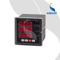 72 Type Three Phase Electric Multi function Wattmeter / 3 Rows LED Digital Power Meter (SP 72E)
