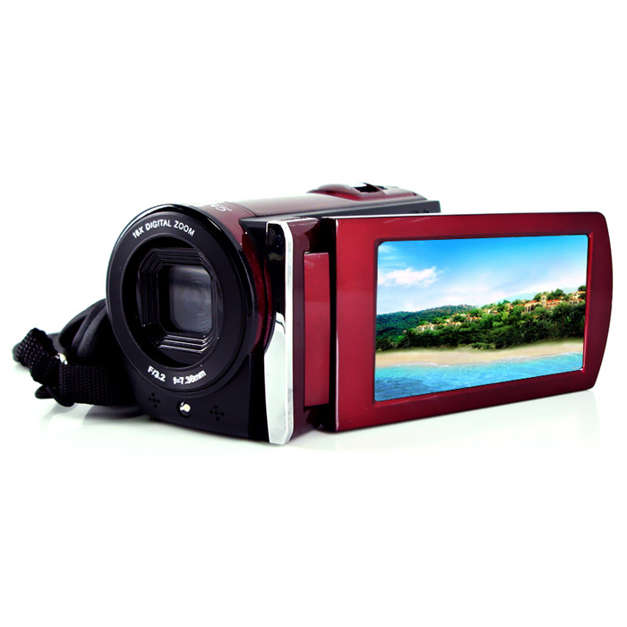 Freeshipping HD Digital Video Camera Max 12MP 3 inch With 16X Digital Zoom /Video Camera Mini Camera Digital Camcorder HDV-666 удлинитель zoom ecm 3