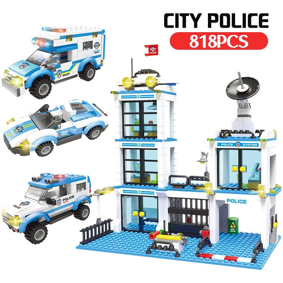 Polícia Técnica de Construção Da Cidade Blocos