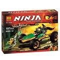 187 pcs BELA ninjagoes 2016 conjuntos de Blocos de Construção Figuras Brinquedos original bela 10320