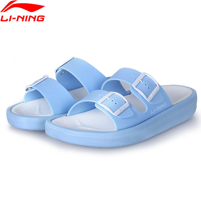 Li-Ning Women CLAP Stylish Slipper Light Weight Breathable Sandals LiNing Sport Sneakers Sport Shoes AGAN002 XWT1332