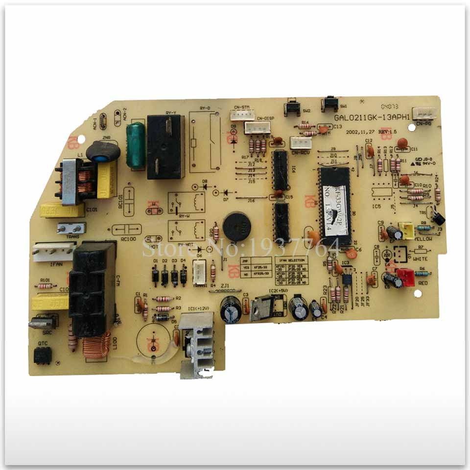95% nouveau pour climatisation ordinateur panneau de commande GAL0211GK-13APH1 KFR-33GW-d-2P simple froid bon travail