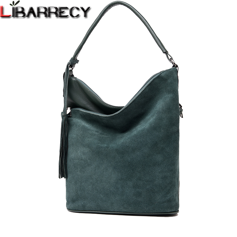 Fashion Split Leather Women Handbags Suede Shoulder Bag Female Simple Crossbody Bags for Women Luxury Brand Top-handle Bags Sac brand new relogio feminino date day clock female stainless steel watch ladies fashion casual watch quartz wrist women watches