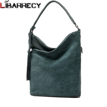 Fashion Split Leather Women Handbags Suede Shoulder Bag Female Simple Crossbody Bags for Luxury Brand Top-handle Sac