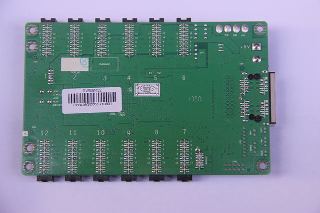 Linsn RV908(RV908M32) LED Display control system Receiving Card Support Static, 1/2, 1/4, 1/8, 1/16, 1/32 Scan, Work with TS802D