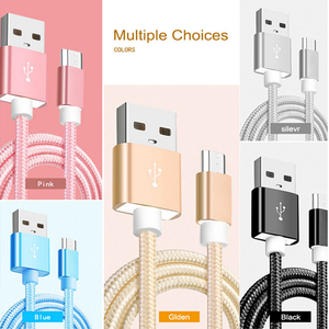 Image 2 - for xiaomi micro usb cable Nylon 2A fast charging sync data cable for xiao mi 1s/2s/3s/4s Redmi 1s/2s/3s/3X/4X/Note/2/3/4/4X