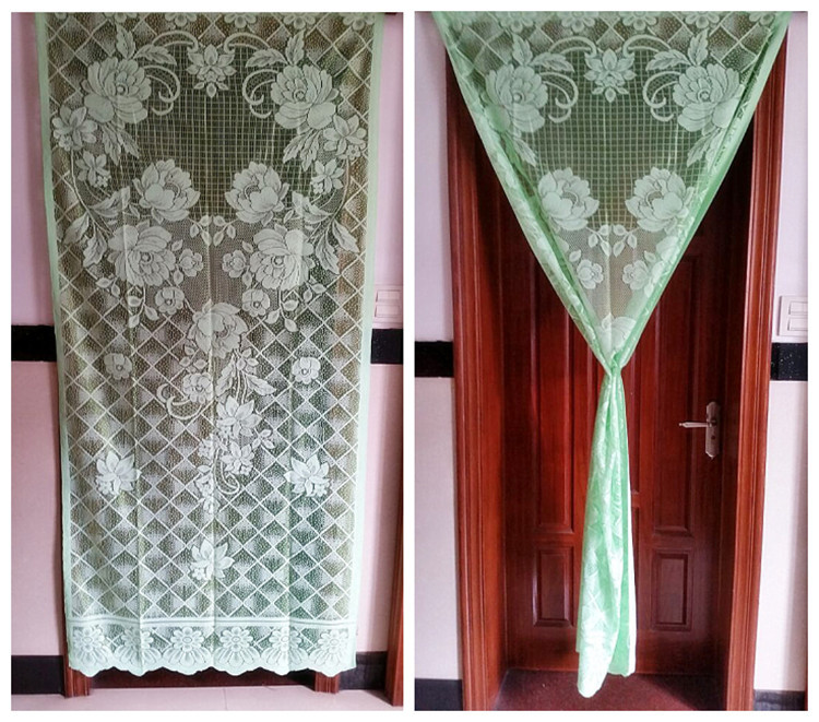 High Quality Online Shop 2pcs Wholesale Thick Cloth Door Curtain Summer Insect Bed Net  Wedding Accessories High Quality Flower Cloth Factory Direct Sale |  Aliexpress ...