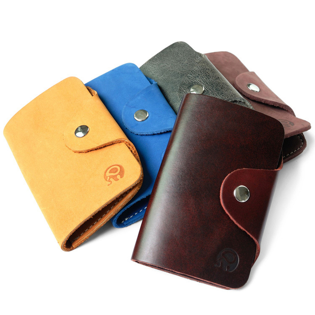 Retro men credit card holder case with keychain holders women retro men credit card holder case with keychain holders women genuine leather card holders wallet business colourmoves