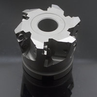 CNC indexable milling cutter high feed milling cutter XK01.09A22.063.06 applicable inserts XMR01 063 A22 SD09 06
