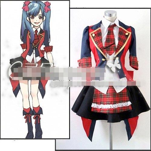 Jeu Anime AKB0048 Watanabe Mayu Mayuyu Partie De Mode Lolita Robe Jupe Uniforme cosplay costume Toute Taille Livraison Gratuite