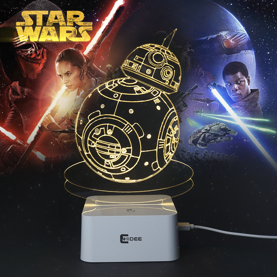 achetez en gros star wars lampe en ligne des grossistes star wars lampe chinois aliexpress. Black Bedroom Furniture Sets. Home Design Ideas