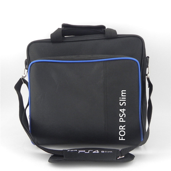 DOITOP Game System Bag For PS4 Slim Game Consoles Accessories Shoulder Bag Carry Travel Case For Sony Playstation PS4 Slim 5