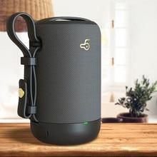 Altavoz inalámbrico con Bluetooth 5,0, altavoz Ipx56 de graves con micrófono incorporado, resistente al agua, para música y teléfono, 10w