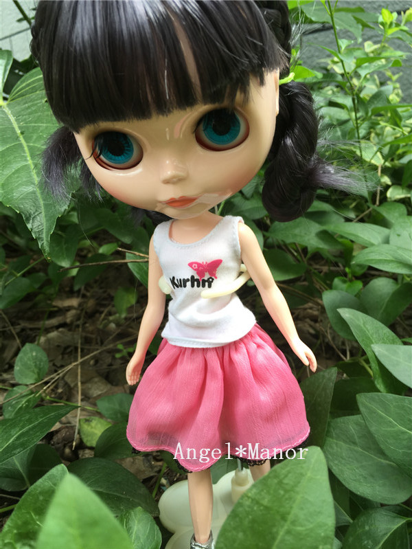 Nude Blyth Doll ,with gold  hair, Fashion doll Suitable For DIY Change BJD , For Girl's Gift,Free shipping ZP001 free shipping nude blyth doll brown gold hair big eye doll fashion doll suitable for diy change bjd for girl s gift