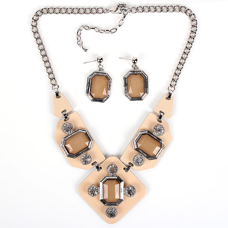 MS17816 Fashion Brand Jewelry Sets Silver/Gole Plated 4colors High quality Party Jewelry Unique Design 2014 New