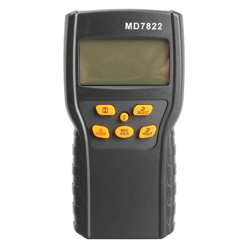 Digital Grain Moisture Meter Temperature Meters Tester Measuring Probe Wheat Corn Rice Moisture Test Meter w/ LCD Display цена