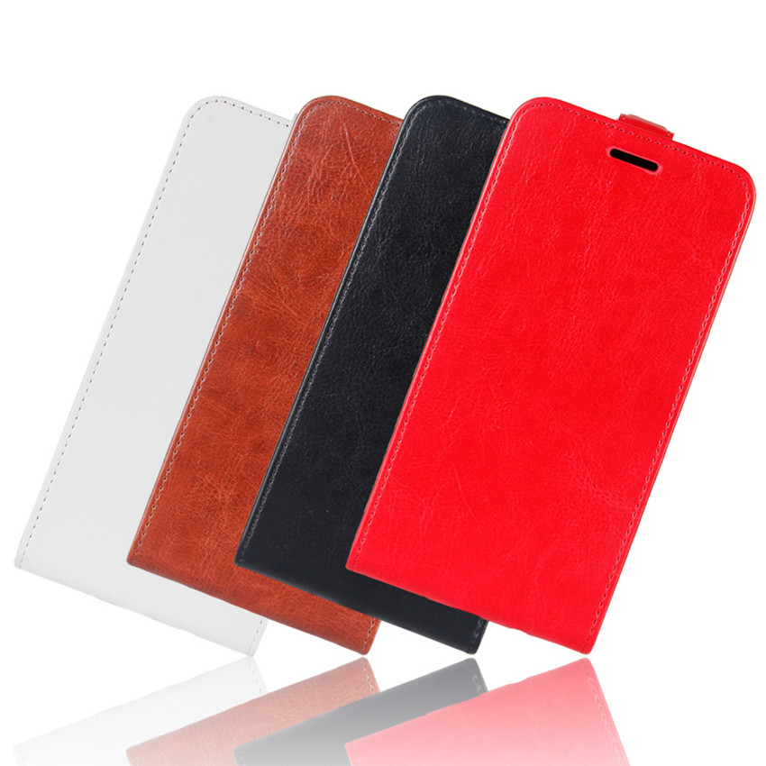Image 3 - Redmi 6A Up Down Vertical Flip Wallet Leather Card Holder Case for Xiaomi Redmi 6A Full Protective Phone Cover Case-in Flip Cases from Cellphones & Telecommunications