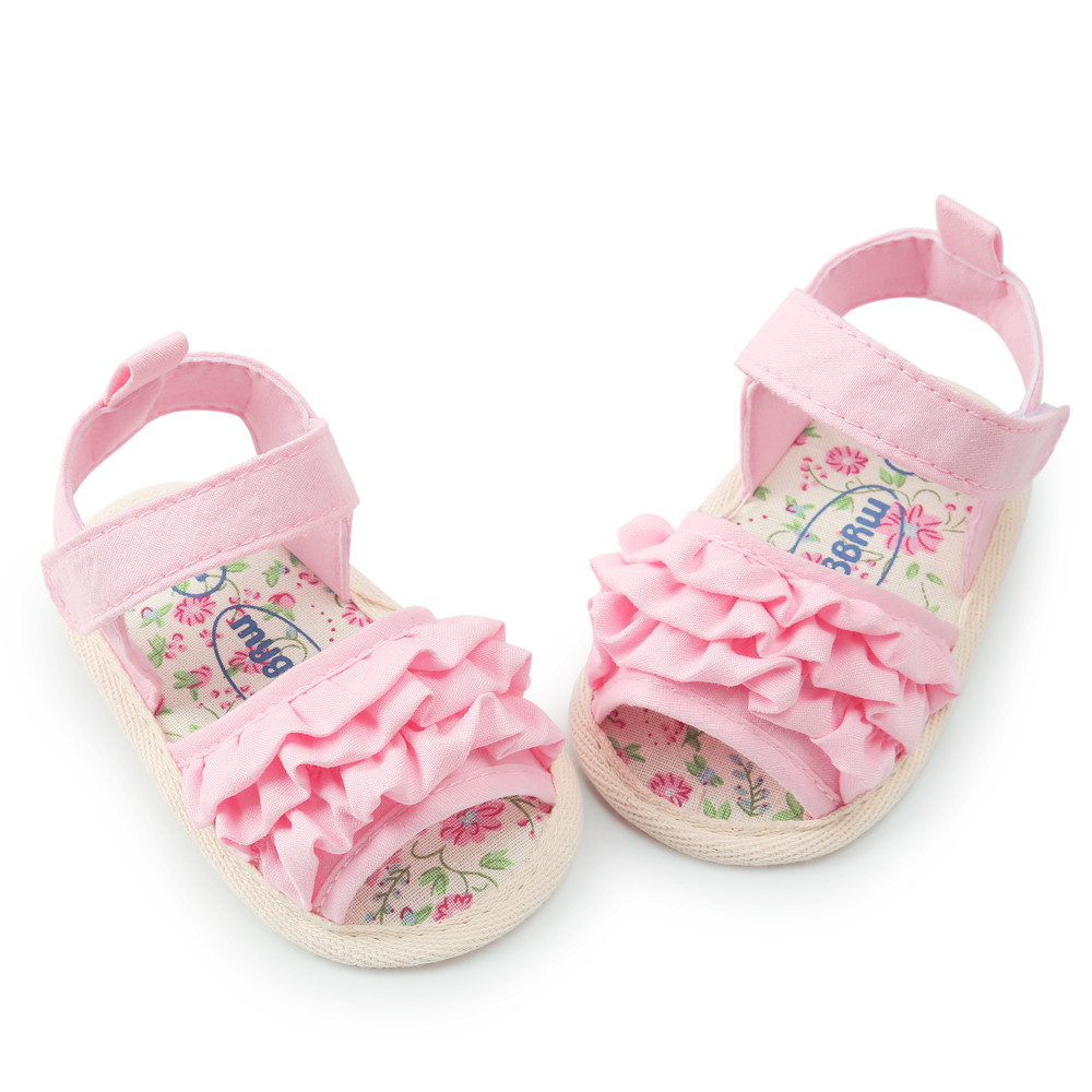 Baby Girls Summer Cute Flower Sandals Shoe Casual Shoes Sneaker Anti-slip Soft Sole Todd ...