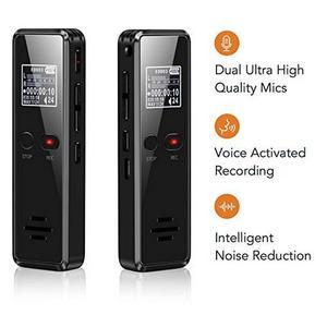 Image 2 - Vandlion V90 dyktafon profesjonalny dyktafon cyfrowy długi czas ukryty aktywowana głosem Flac bezstratny HIFI Mini odtwarzacz MP3